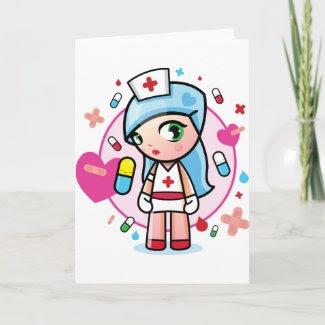 sweet nurse card