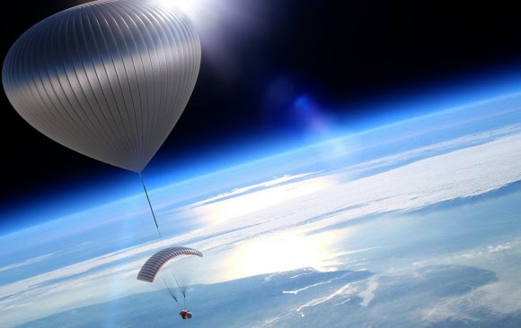Artist's conception of World View's planned balloon mission some 19 miles (30 kilometers) up. Credit: World View Enterprises Inc.