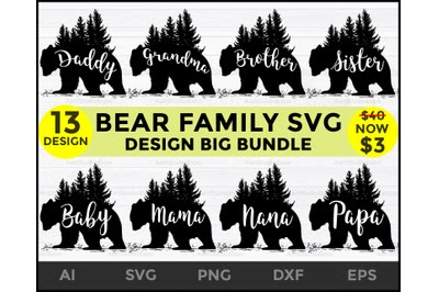 Download Download Bear SVG Family pack Free - Free Download Bear ...