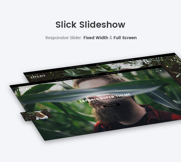Slick slideshow