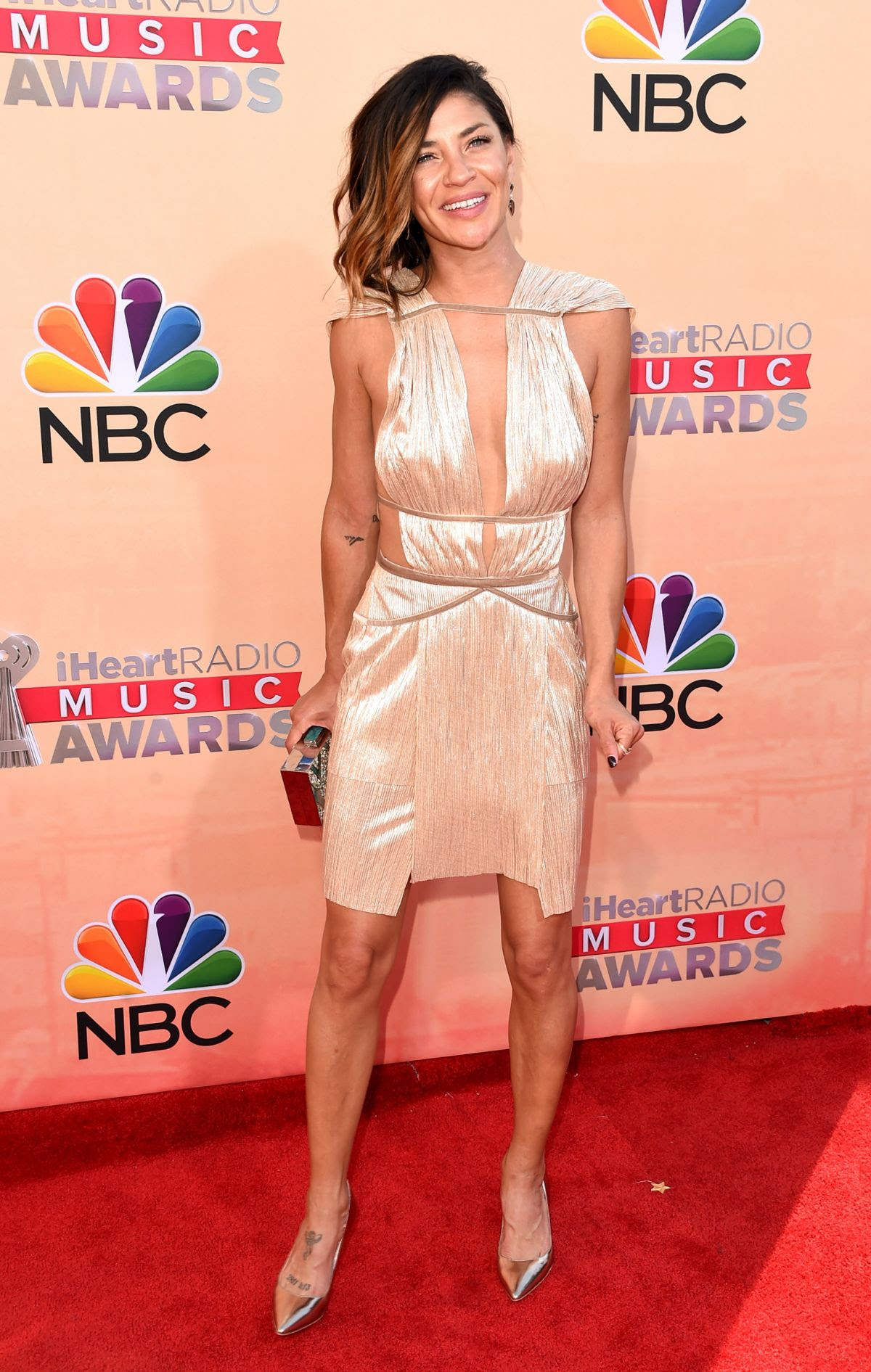 JESSICA SZOHR at 2015 iHeartRadio Music Awards in Los Angeles