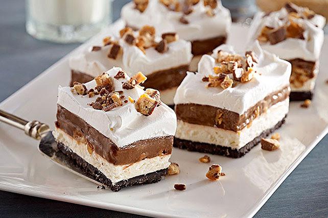 Chocolate Candy Bar Dessert - Kraft Recipes