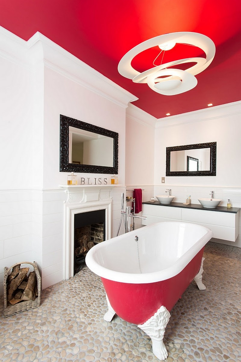 Using Bold Colors In The Bathroom - When And How To Do It