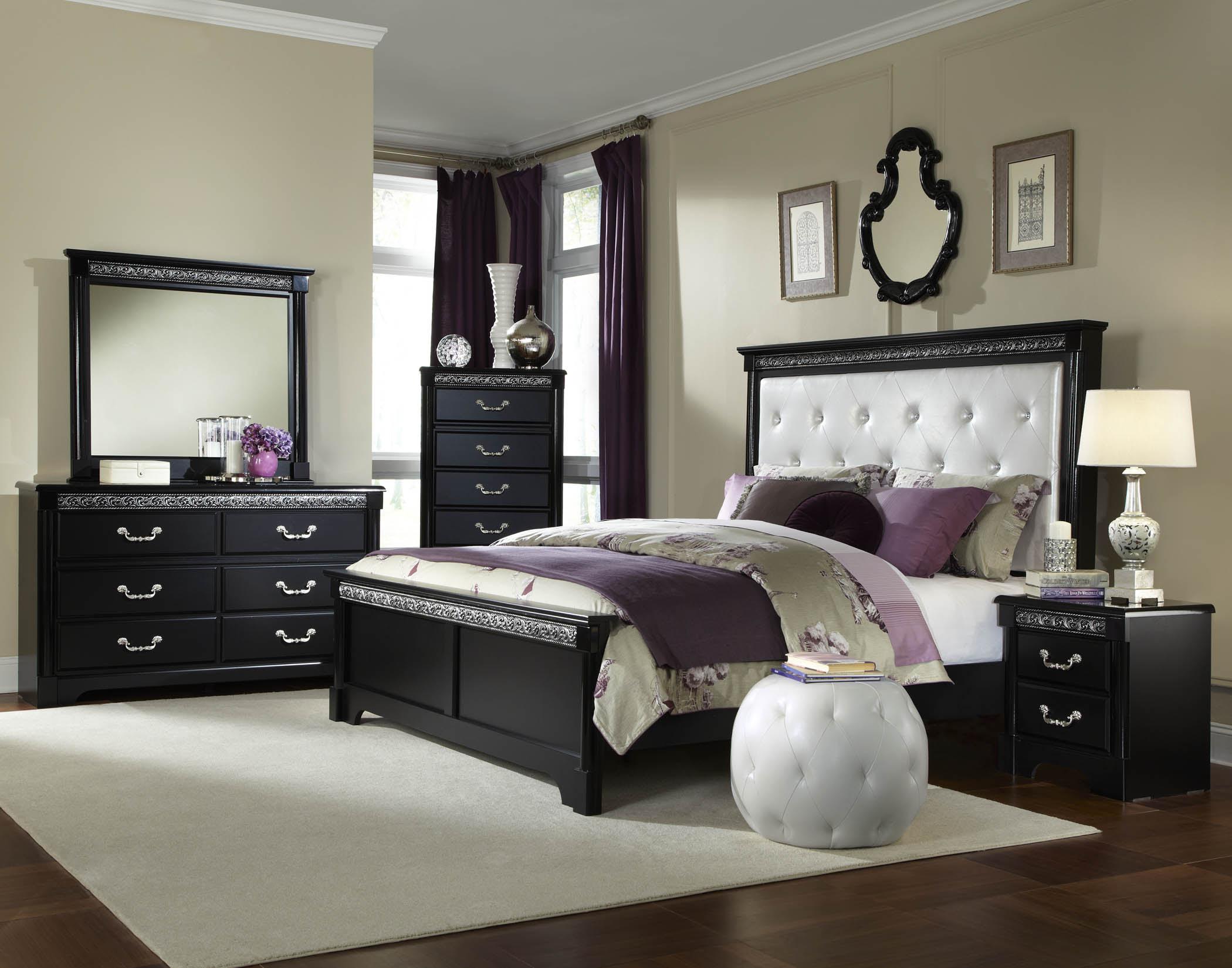 Black Bedroom Suite - Amazing Bedroom Ideas