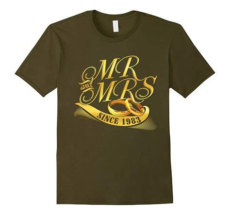 Married T shirt 34th Wedding Anniversary Gift Couple T