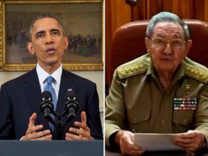 Obama e Raúl Castro anunciam retomada das relações de Cuba e EUA