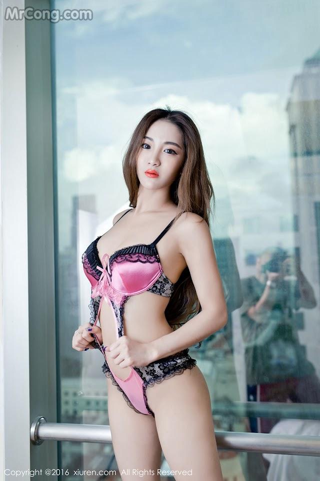 XIUREN No.618: Người mẫu Sugar (梁莹) (53 ảnh)