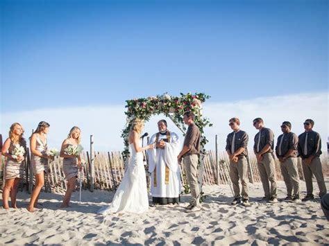 sea shell resort  beach club weddings beach haven