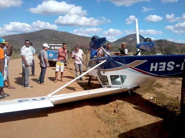 Avião (Foto: PMBVT / Jornal da Chapada)