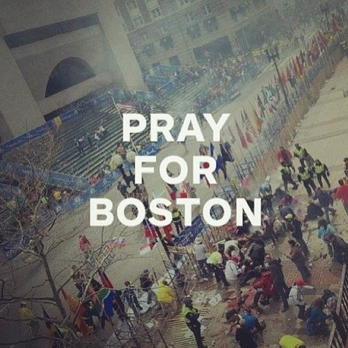 All my prayers and thoughts for Boston's victims.