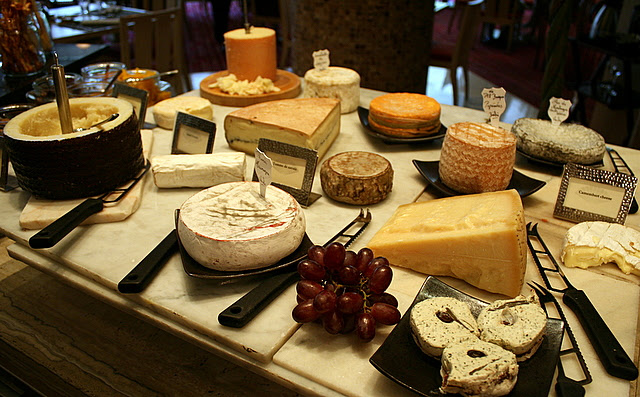 French farm house cheeses