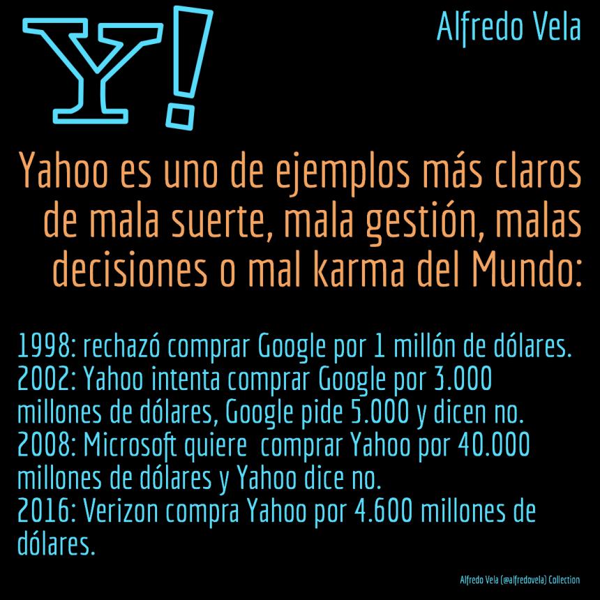 Yahoo Una Empresa Con Muchas Malas Decisiones Socialmedia