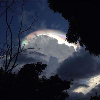 Nube apocalíptica en Costa Rica
