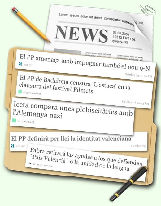 Recull de notícies