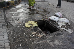 welcome to mumbai.. the city of open gutters and potholes by firoze shakir photographerno1