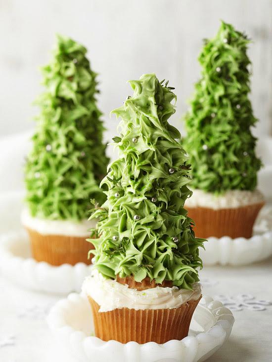 Oh Tannenbaum Cupcakes