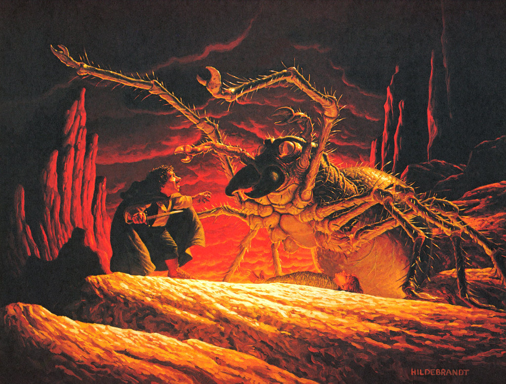 Tim and Greg Hildebrandt - Shelob, Lord Of The Rings