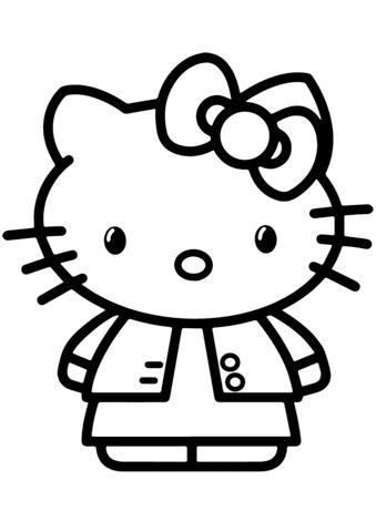 Download 67+ Gambar Hello Kitty Coloring Terbaik Gratis