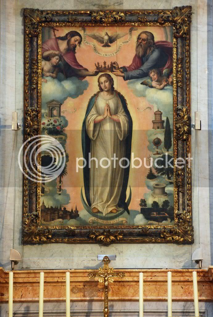 La Inmaculada. Juan de Juanes