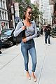bella hadid bares her midriff in nyc 05
