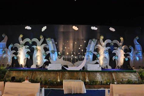 Celestial Moon Theme   Wedding Stage Decoration   Stage