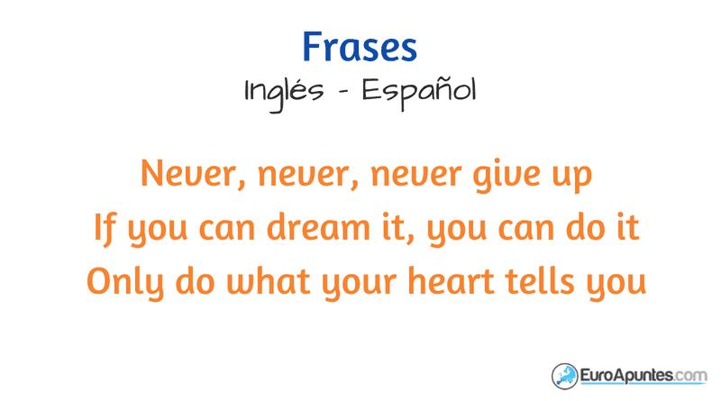 Frases En Inglés Nuevas Maneras De Aprender Inglés