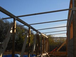 Porch Roof Cross Beam Braces