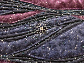 Detail of Blue Moon in the Milky Way