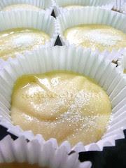 moldes rellenos con azúcar