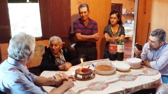 José Nicolau contando casos antigos, após o almoço em 16.01.2016