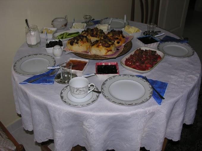 İtalyan Usulü Kahvaltı & Çin Usulü Akşam Yemeği