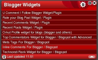 Opera Widget for your Blog