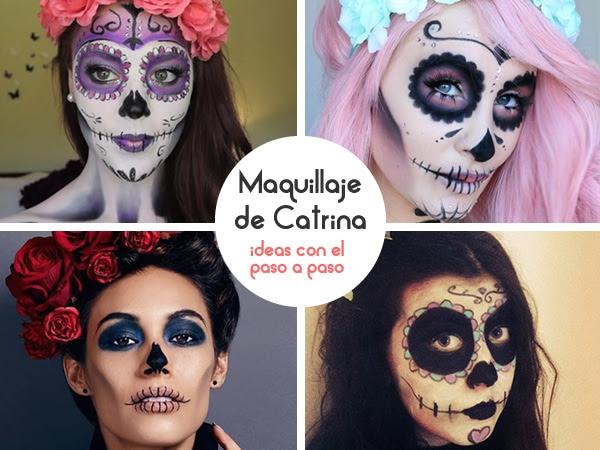 Ideas Para Maquillaje De Catrina Que Puedes Hacer Tu Misma Moda Y