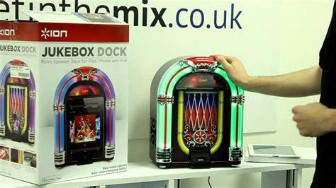 ion jukebox dock retro speaker dock  ipad iphone