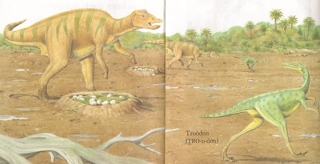 Troodon in the Maisaura Nesting Grounds
