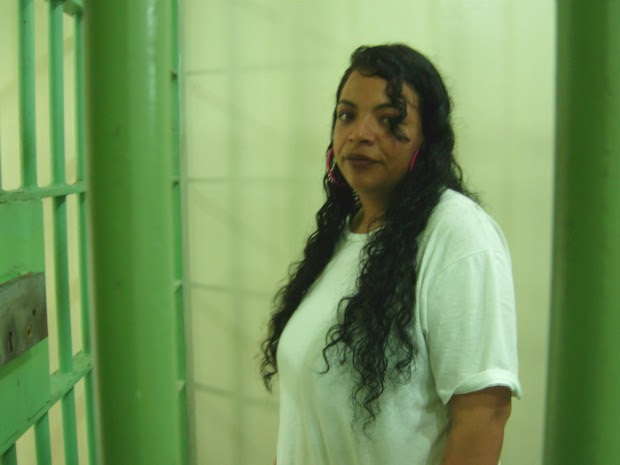 Poliana Xavier cumpre pena por tráfico de drogas (Foto: Poliana Casemiro/G1)