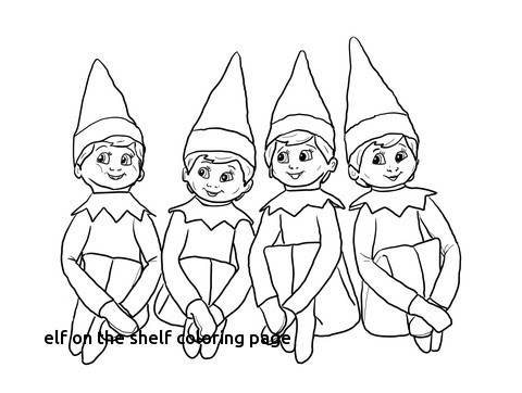 girl elf on the shelf coloring pages at getcolorings