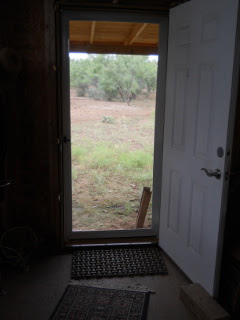 Front Screen Door From Inside