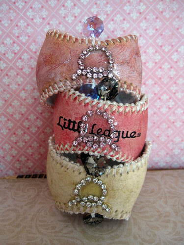 Custom Baseball Cuffs Chic! 2