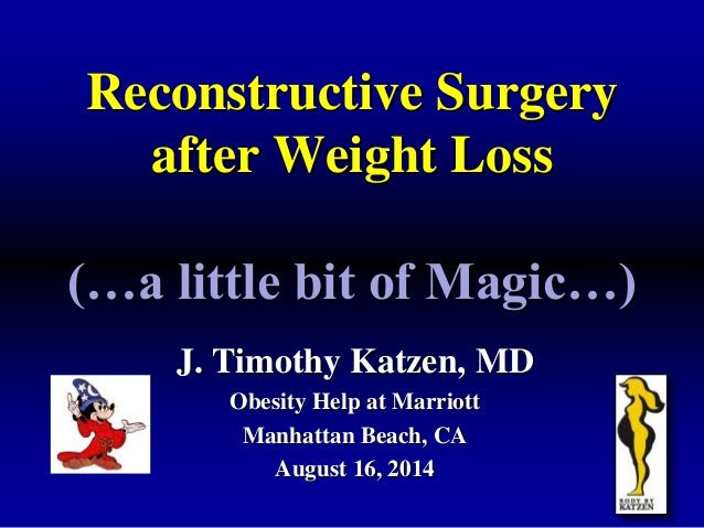 Reconstructive Plastic Surgery After Weight Loss Surgery ...