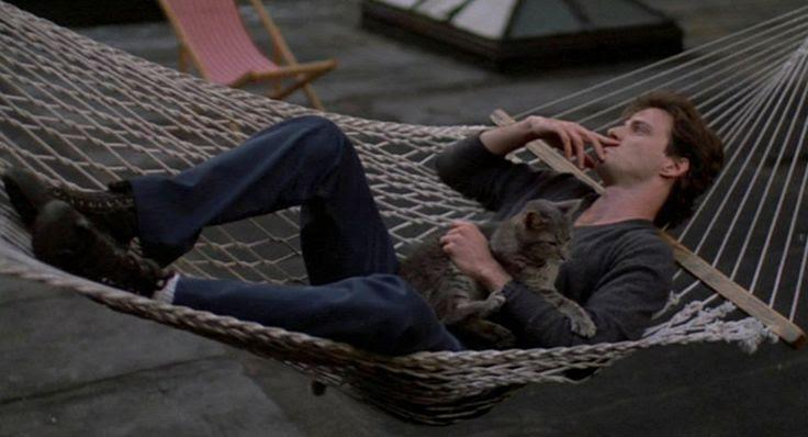 aidan quinn and a cat in desperately seeking susan  -brutalkind