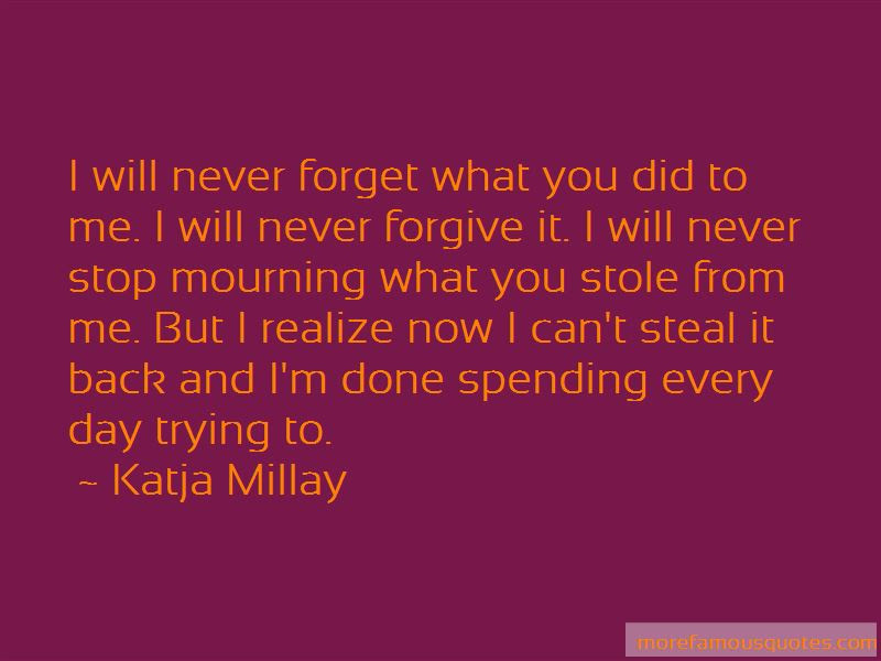 Trying To Forget Me Quotes Top 47 Quotes About Trying To Forget Me