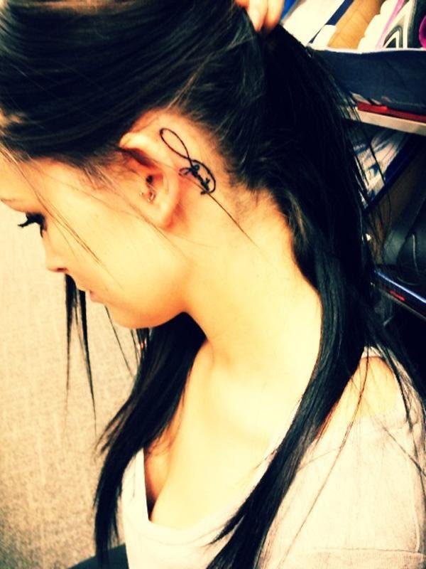 55 Incredible Ear Tattoos Art And Design