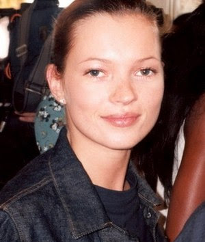 English: British supermodel Kate Moss Portuguê...
