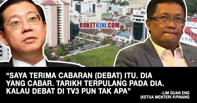 Penang Chief Minister Lim Guan Eng.