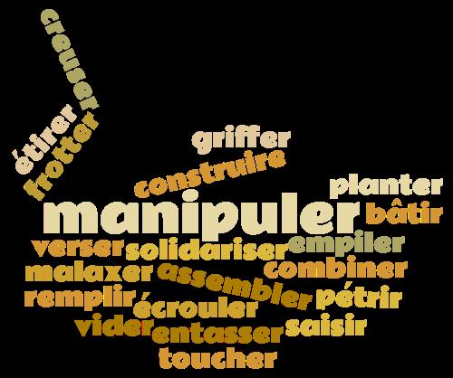 Espace manipulation : explorer une nouvelle matière, le sable cinétique