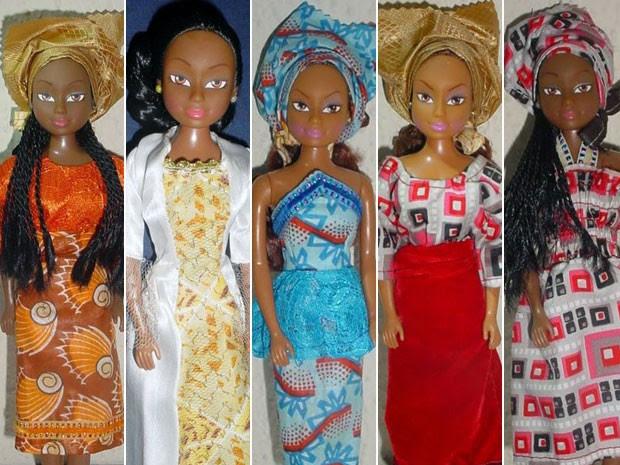 O preço das bonecas começa em US$ 5 (Foto: Queens of Africa/Divulgação)