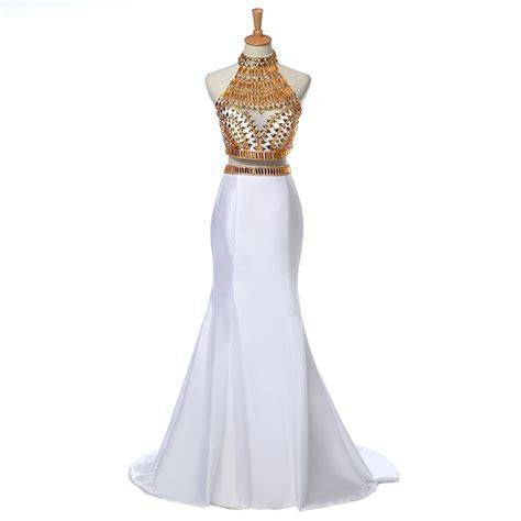 Aliexpress.com : Buy Gold African prom dresses 2016 real