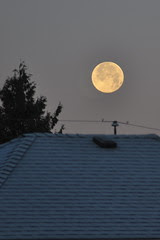 Full Moon over Burnaby