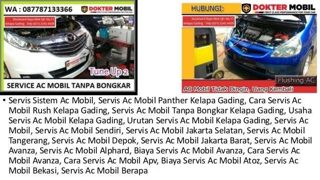Biaya Service Ac Mobil Panther